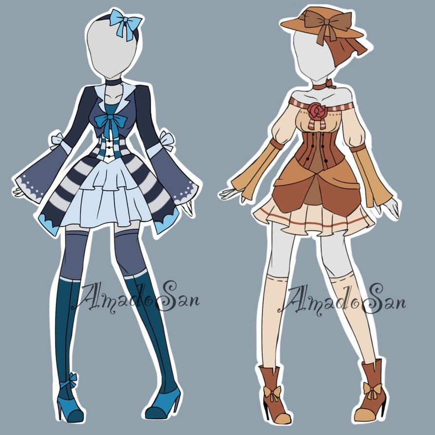 Victorian Outfits Adoptables CLOSED by AS,Adoptables on DeviantArt. Dessin  MangaCoiffuresDessinerDeviantartTenues VictoriennesFemelleVêtementsWaiting