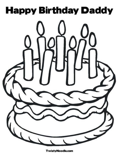 happy birthday coloring pages for dad enjoy coloring