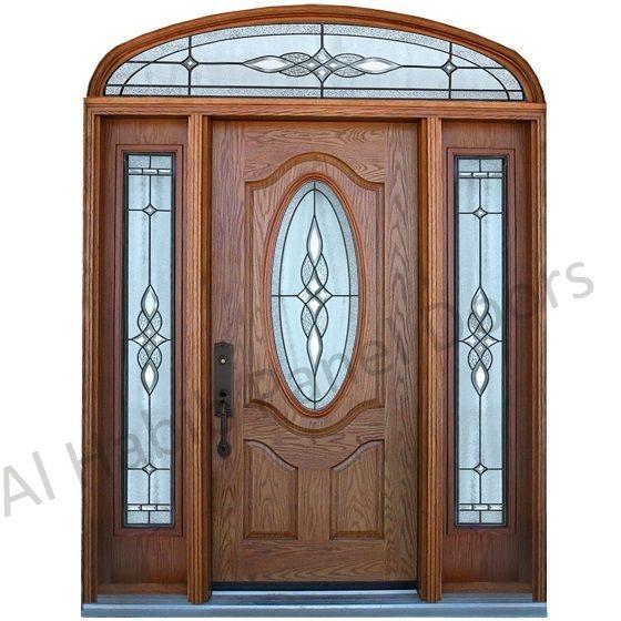 3 Panel Ash Skin Door With Glass Hpd488 Panel Skin Doors Al Habib Panel Doors Home Door Design Front Door Design Room Door Design