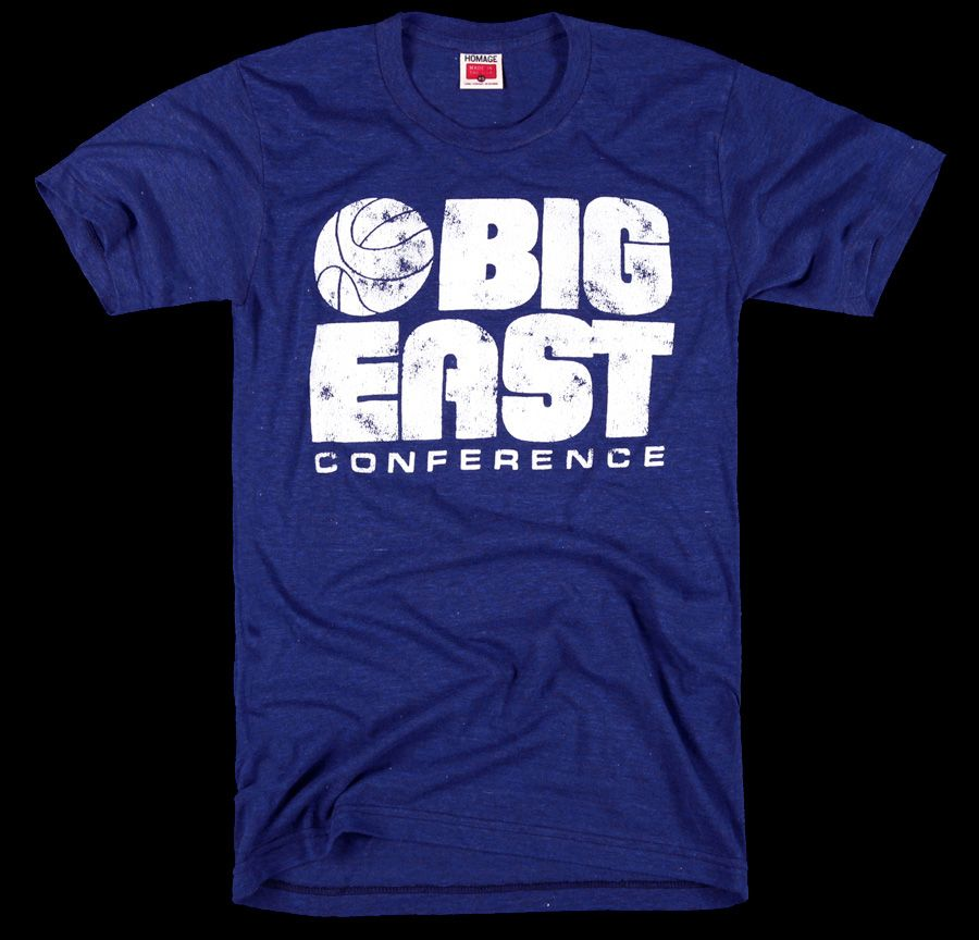 8f37d5586d1 HOMAGE Big East Conference NCAA College Basketball T-Shirt -  28.00 ...