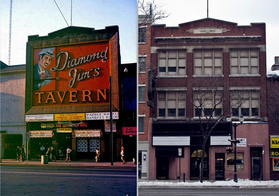 DIAMOND JIM'S, 95 KING ST. OPENED IN1968 and what is there