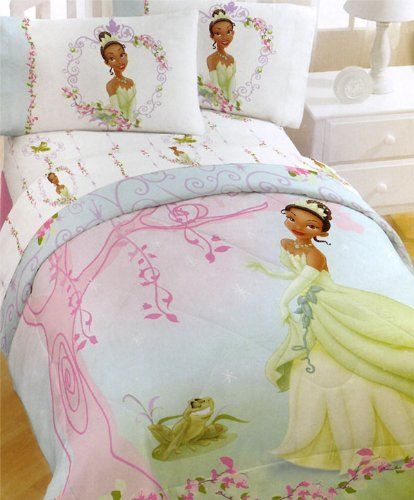 Princess Frog Bedding Set 5pc Full Tiana Bed In A Bag By 51