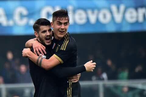 Morata and Dybala #Juve