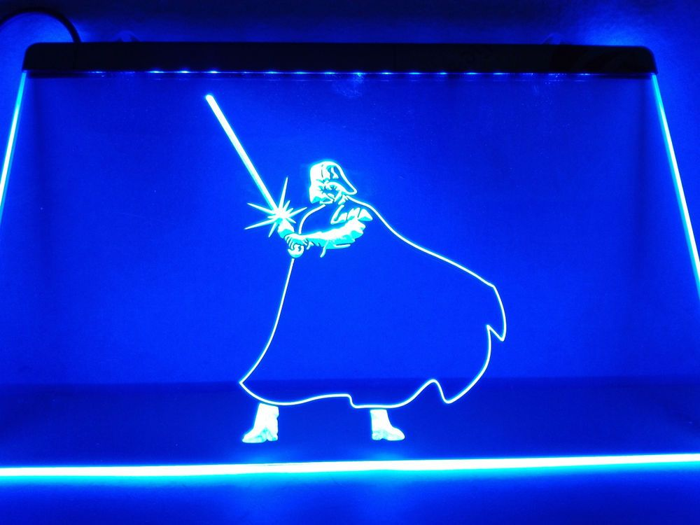 Led Sign Home Decor Amusing Lc019 Star Wars Darth Vader Bar Beer Led Neon Light Sign Home Design Inspiration