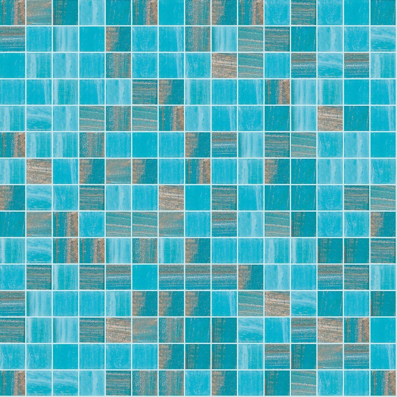 """Ornate, 3/4"""" x 3/4"""" - Glass Tile"""