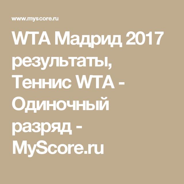 myscore tennis ru