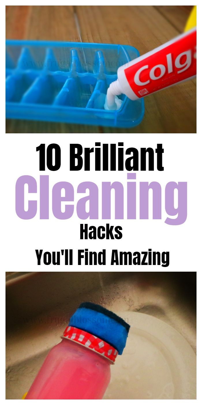 10 Cleaning & Household Tips