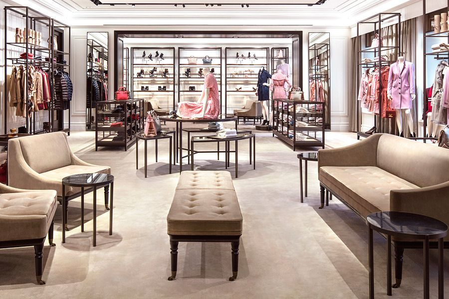 Burberry Opens First Flagship In