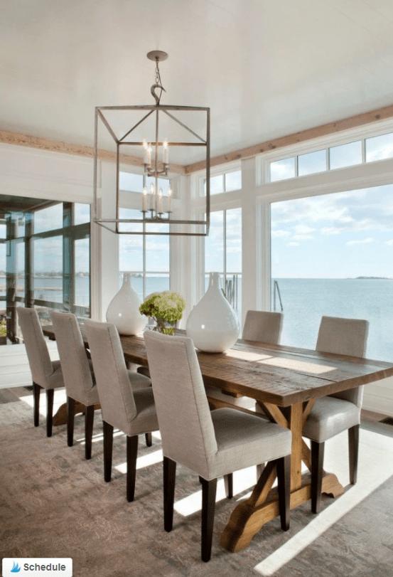 Coastal Farmhouse Dining Table Ideas For Your Beach House Farmhouse Dining Room Table Dining Room Table Decor Modern Farmhouse Dining