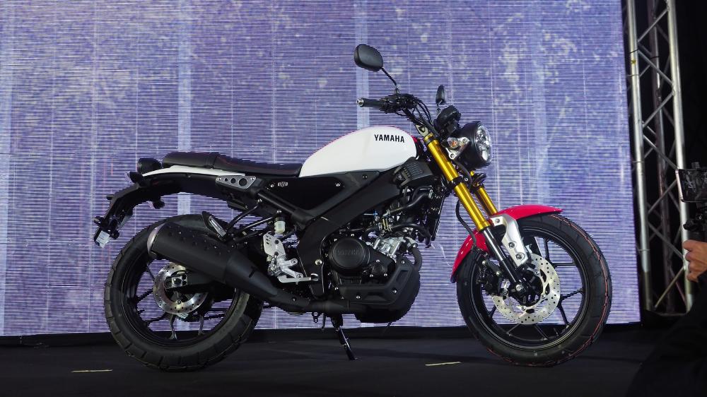 All New Yamaha Xsr155 Fotografi