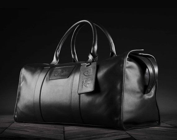 c949df45ee0 BROOKLYN NETS X ADIDAS ORIGINALS X SCHOTT – LEATHER DUFFLE BAG ...