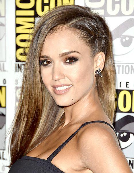 Whoa Jennifer Anistons Braided Pony Plus More Beauty
