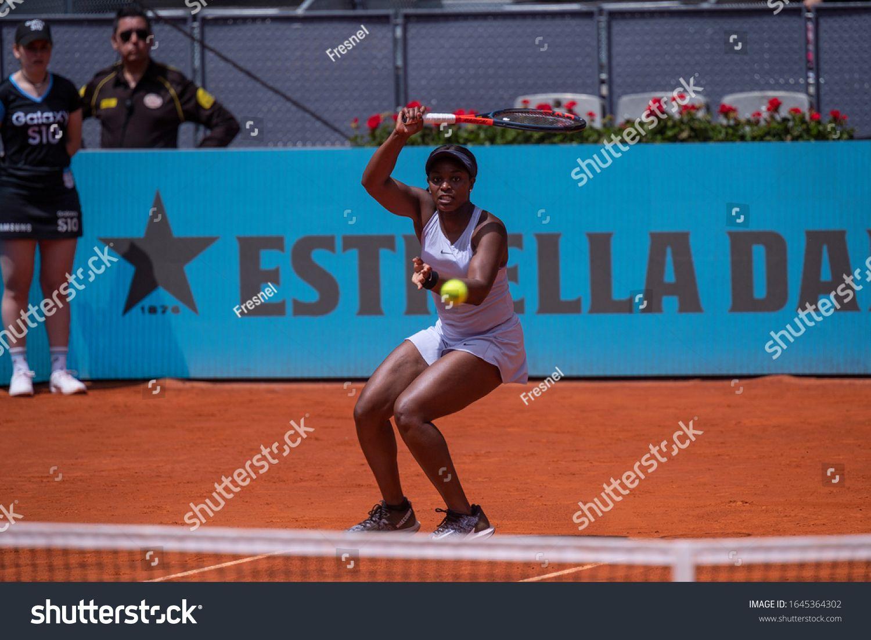 Madrid Spain May U002f 06 U002f2019 Sloane Stephens American Tennis Player Participating In The Madrid In 2020 American Tennis Players Madrid Tennis Tennis Players