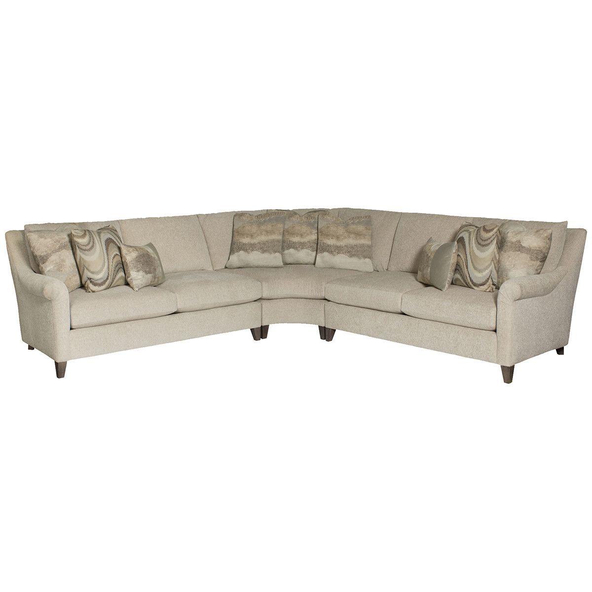 Bernhardt Upholstery Sherman Sectional Sofa Sectional Sofa Couch Furniture Sectional Sofa