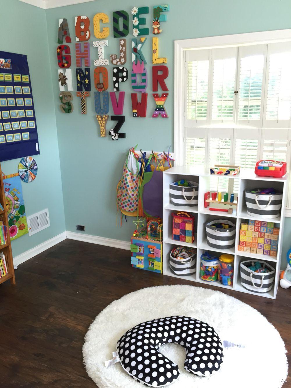 In Home Daycare More Peuterspeelzaal Ideeen Peuterspeelzaal En