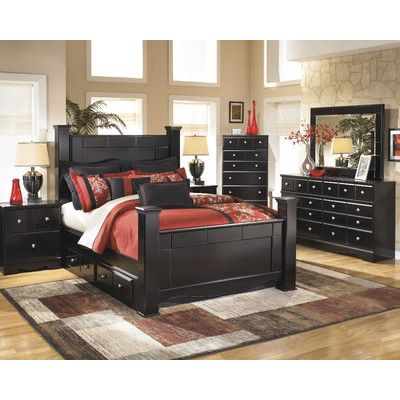 Look What I Found On Wayfair New House Black Bedroom Furniture