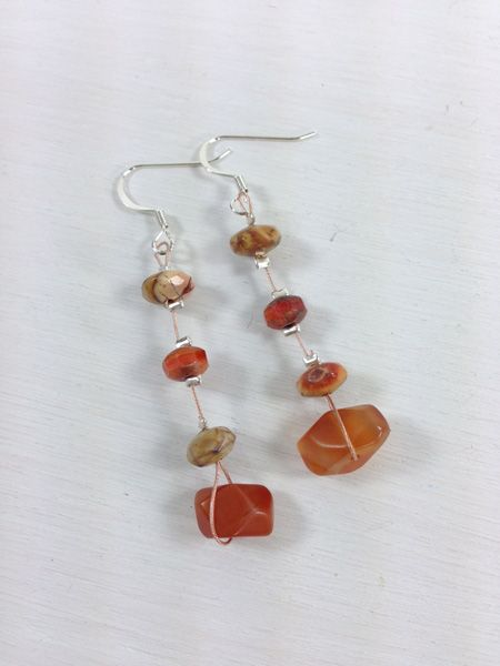 Great Idea To Make Earrings Without Headpins Make It With