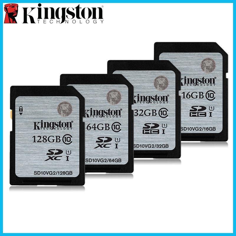 Kingston memory card 32gb class10 64gb 128gb high speed sd