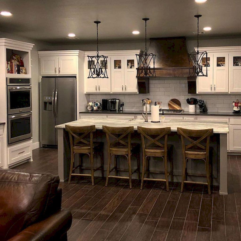 Kitchen Backsplash Ideas In 2019 Farmhouse kitchen