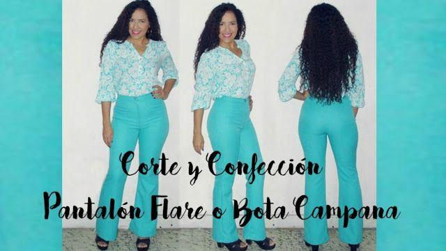 Aprende con SANDRA PADILLA : Corte y Confección de Pantalón Flare