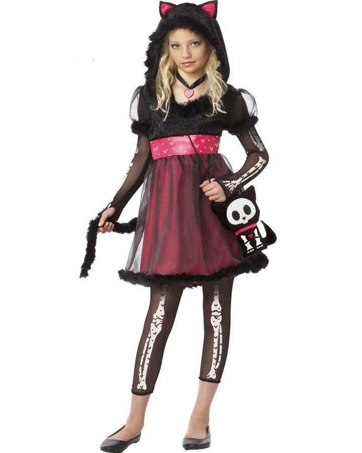 Kit the Cat Girls Costume Kids Halloween Costume Ideas Pinterest - halloween teen costume ideas