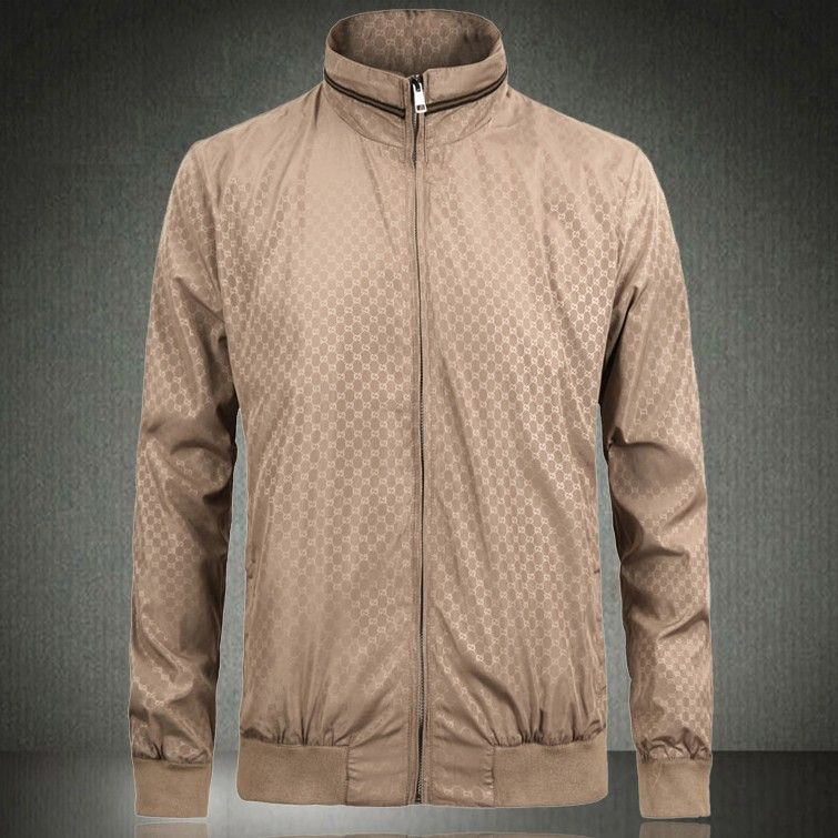 High quality male casual jacket slim stand collar men's clothing thin outerwear jacket $110.50