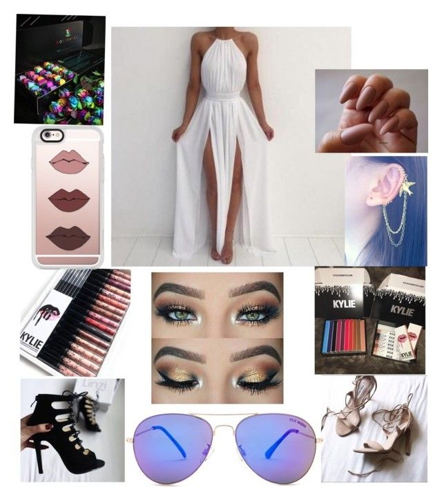 """""""Summer night party💖"""" by aryamarie on Polyvore featuring Steve Madden and Casetify"""