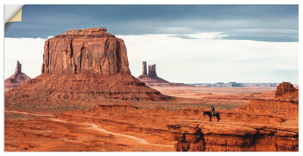 Photo of Premium Wandfolie »Kurt Krause: Colorado – Utah Monument Valley«