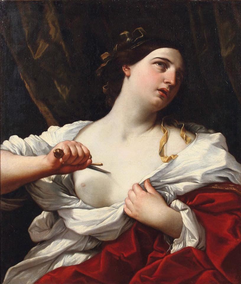 Il suicidio di Lucrezia romana di Guido Reni
