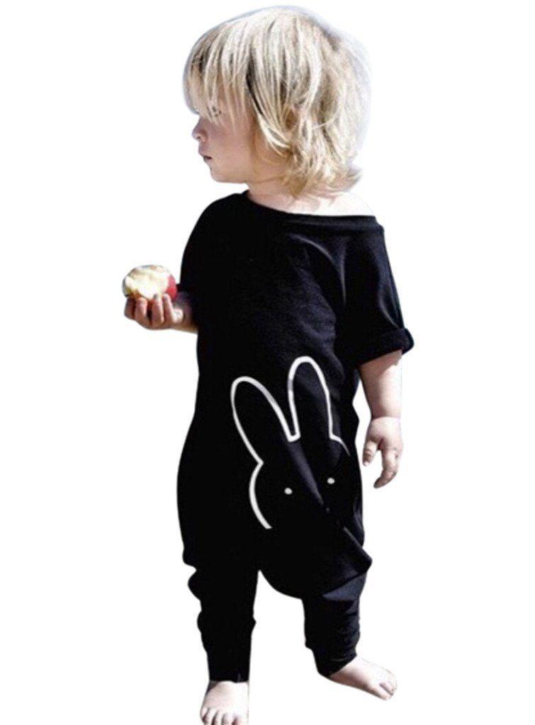 mioim unisex baby kinder overall strampelh schen one piece romper jumpsuit kurz rmel baby. Black Bedroom Furniture Sets. Home Design Ideas