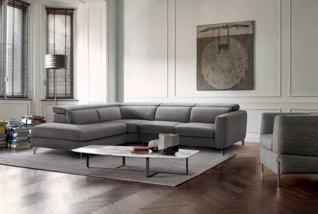 Versatile sofa volo italian living room furniture from natuzzi italia