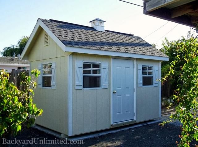 Outdoor ideas · Ridge VentGable ... & Pin by Backyard Unlimited--California\u0027s Amish-Made Sheds \u0026 Gazebos ...