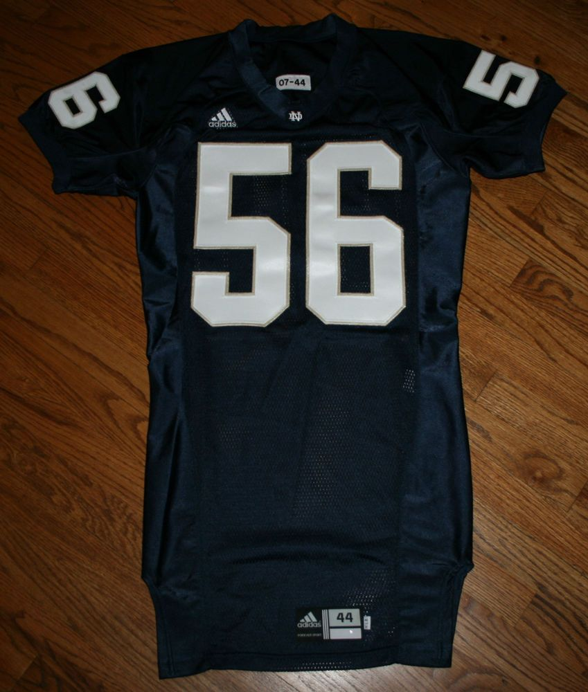 Notre Dame Fighting Irish Football Game Jersey  56 Adidas size 44 Authentic   adidas  NotreDame 9643648e0
