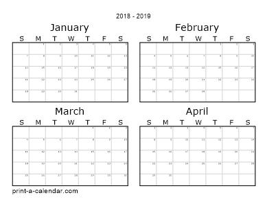 Make Your Own Calendar 2019 Make your own 2017, 2018, or 2019 printable calendar PDF