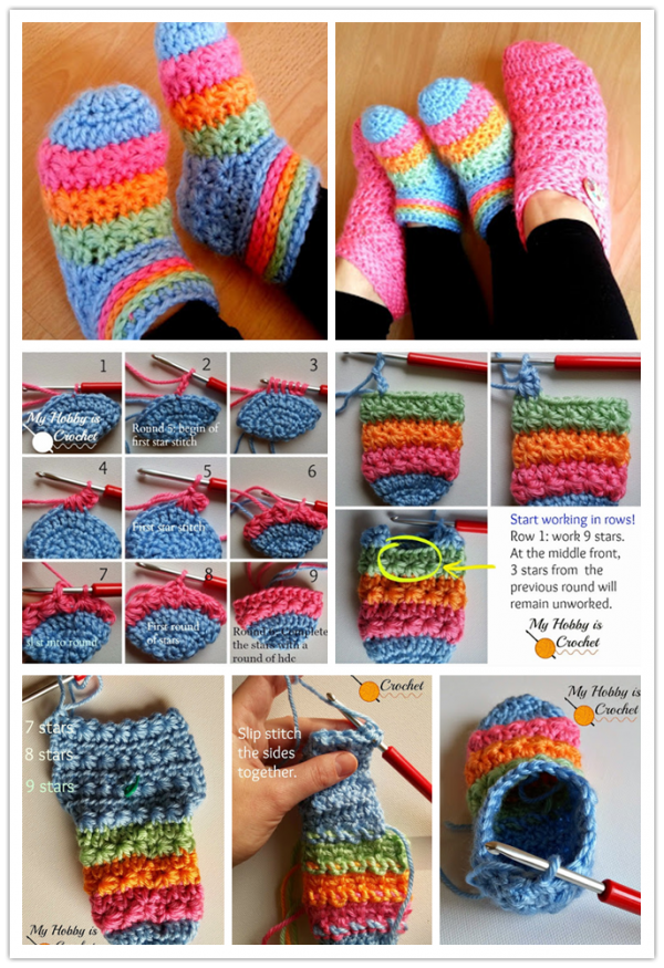 Toddler Slippers Crochet Pattern Zamotrosayhoo Pinterest