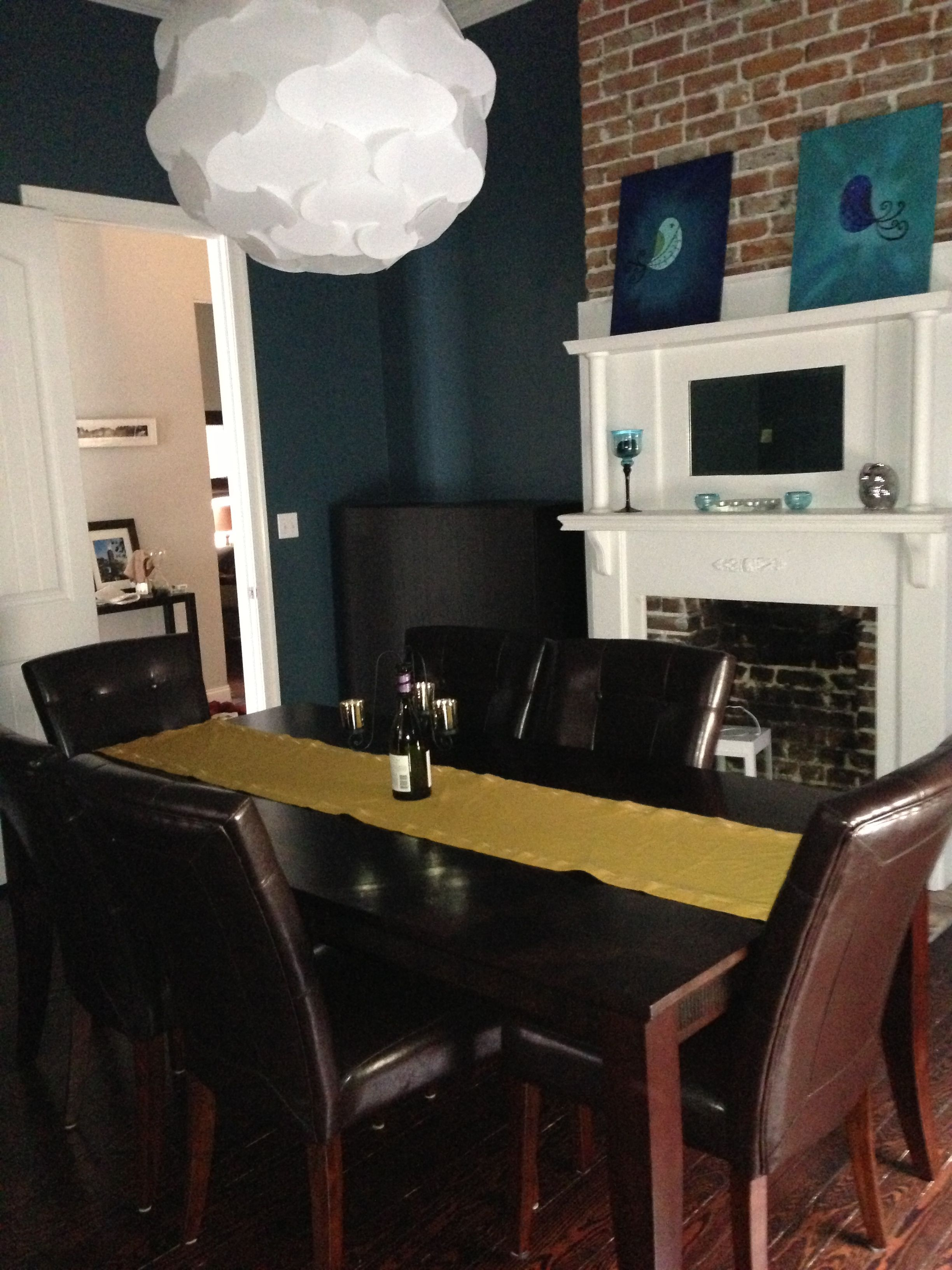 New Dining Room Color Tempe Star From Sherwin Williams Dining Room Colors Dining Room Walls Room Colors