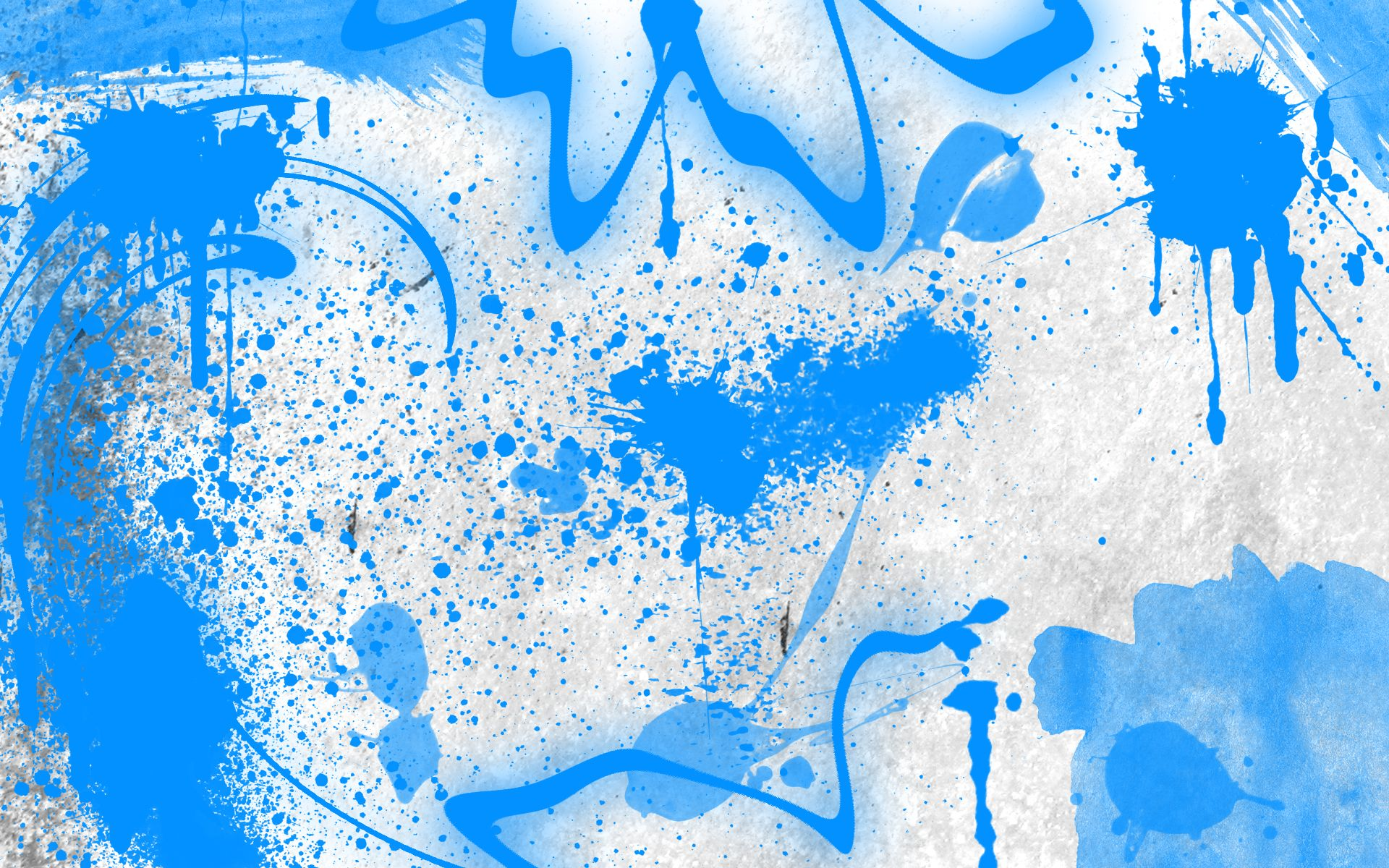 Zoom White Blue Graffiti Screensaver Abstract wallpaper