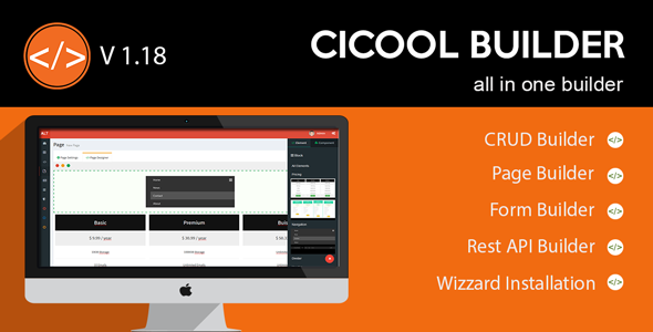 Free Download Cicool - Page, Form, Rest API and CRUD