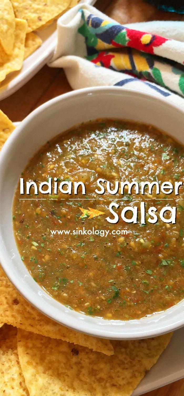 Indian Summer Salsa @sinkology | Salsa is my love language ...