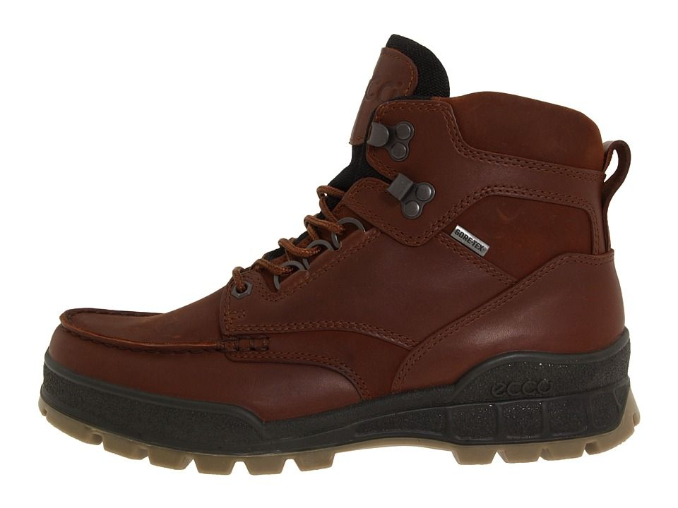 ECCO Track II GTX High Men's Waterproof Boots Bison Leather