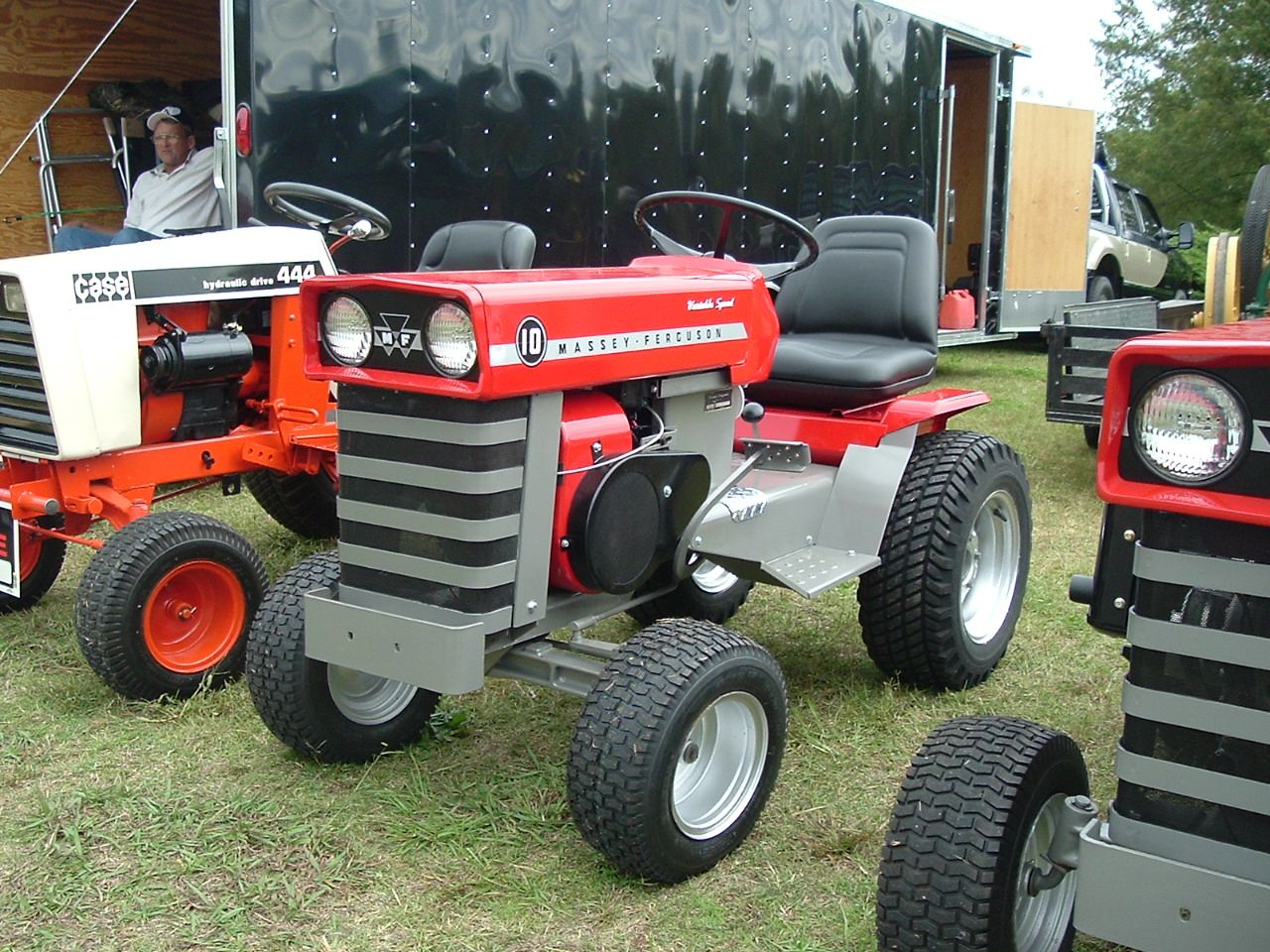 Massey Ferguson 10 Lawn and Garden Lawn Mower, Tractor Mower, Lawn  Tractors, Old