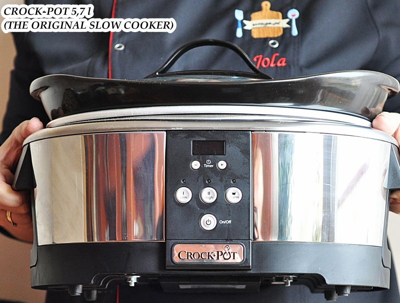 Wolnowar Crock Pot Recenzja Damsko Meskie Spojrzenie Na Kuchnie Crockpot Crock Slow Cooker