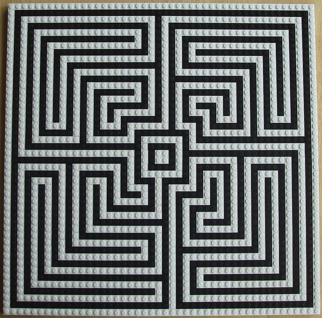 Labyrinth Overhead View