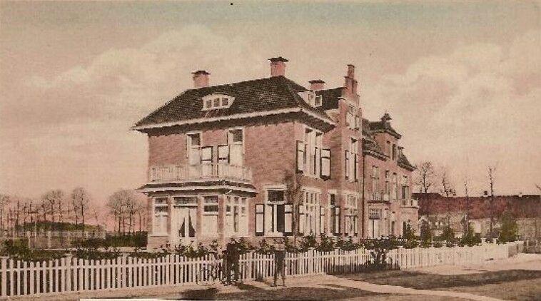 Villa aan de Bornsestraat in Almelo.