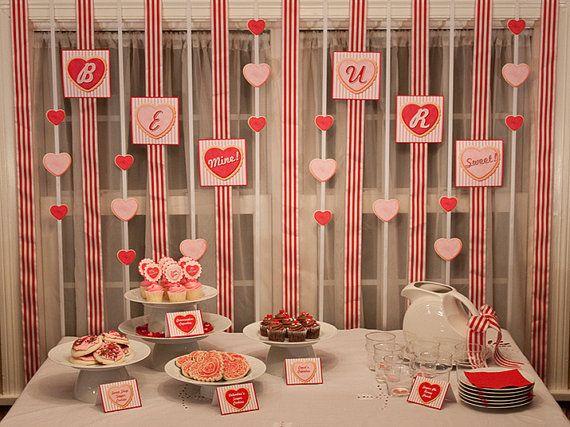 Sugar Cookie Valentine Party - Tip Junkie