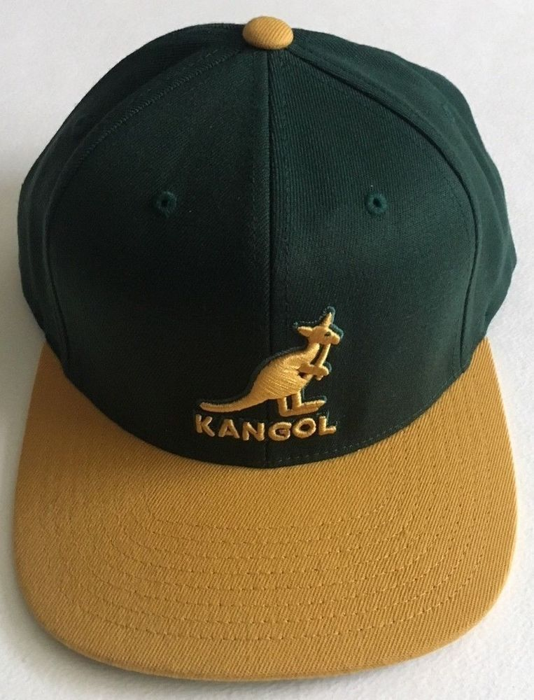 44ff426c55c Kangol Championship Adjustable Baseball Cap-Green Gold  fashion  clothing   shoes  accessories  mensaccessories  hats (ebay link)