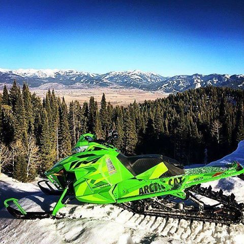 Arctic Cat Decal Arctic Cat Sticker Snowmobile Wall Art Snow Ride Mountains Winter Snowmobile Room Decor
