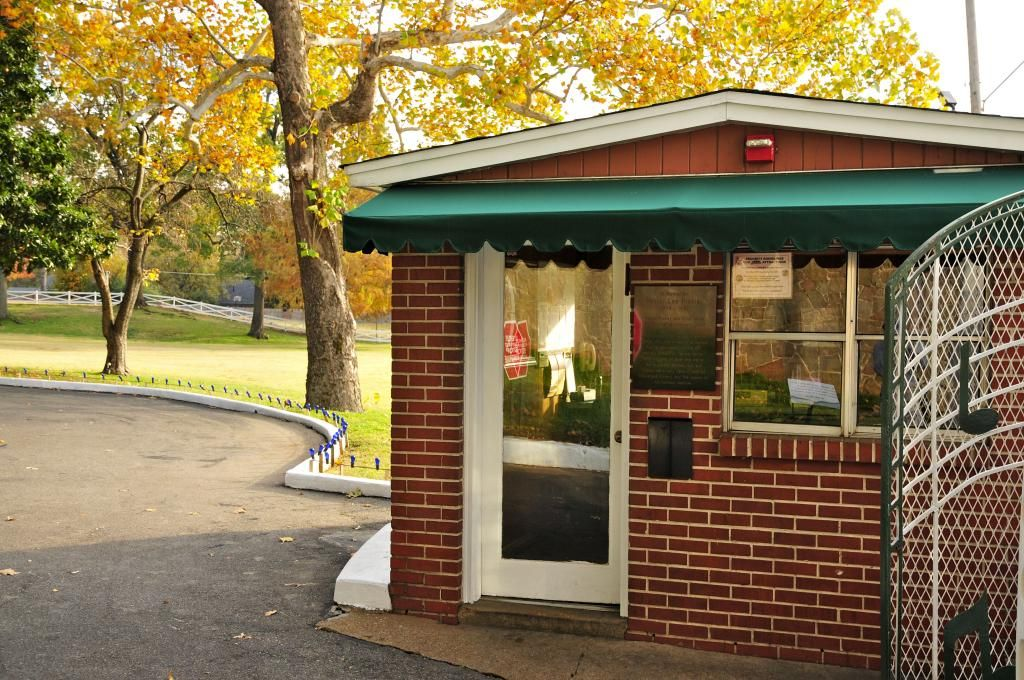 The graceland security gate house … pinteres…
