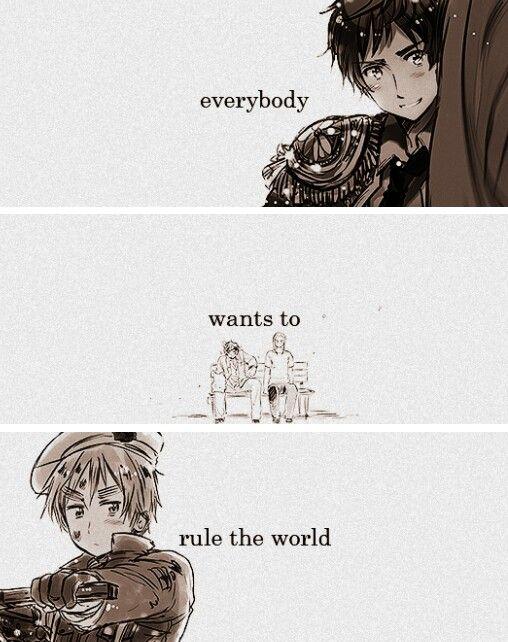 Hetalia - Everybody Wants to Rule the World