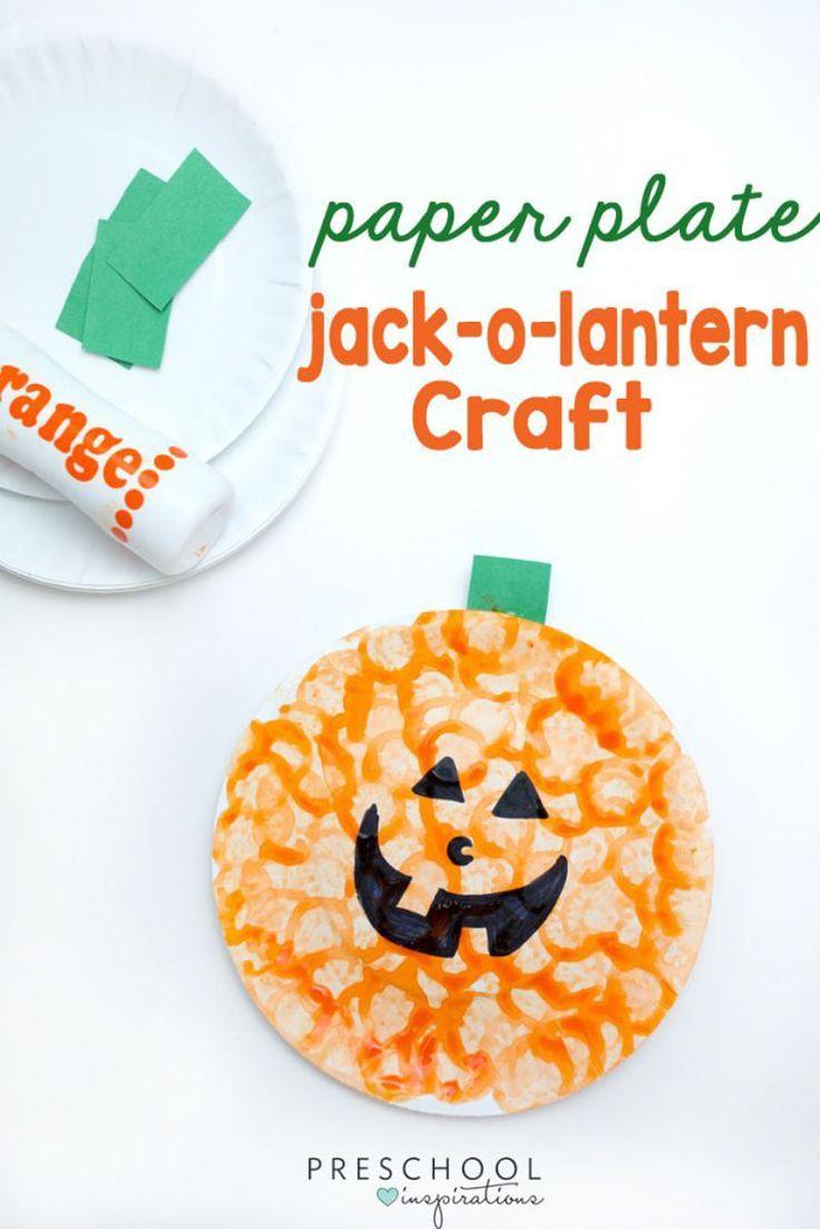 Easy Pumpkin Craft Perfect for Last Minute Halloween Fun